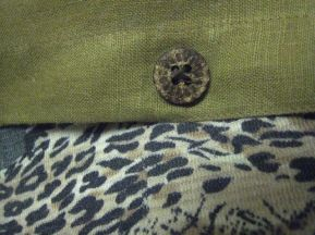 cheeky buttons bring out jungle of never worn rayon skirt from CA days