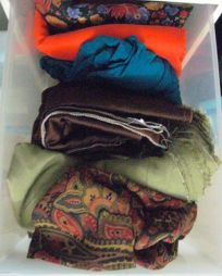 the half-n-half drawer: hot & cool fabrics