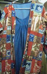 self-drafted jacket 1 & denim dress