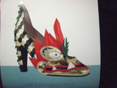 my shoe calendar has this model for this month - love it!