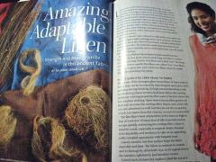 super article in current threads magazine on linen