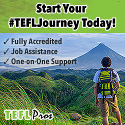 Button to purchase TEFL Pros TEFL teacher certification.