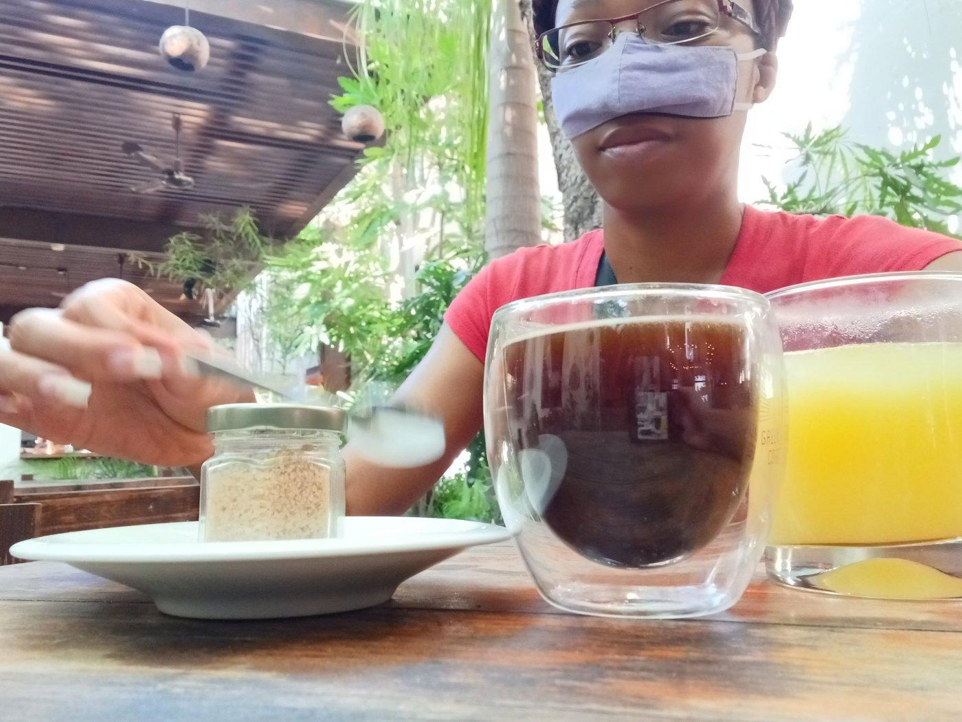 First morning in Merida, Mexico breakfast.