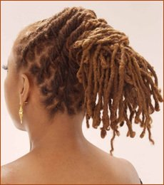 Fascination of natural African American hair