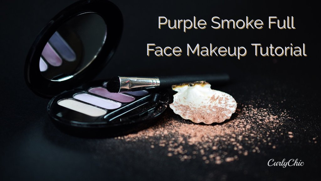 Purple Smoke full face makeup tutorial
