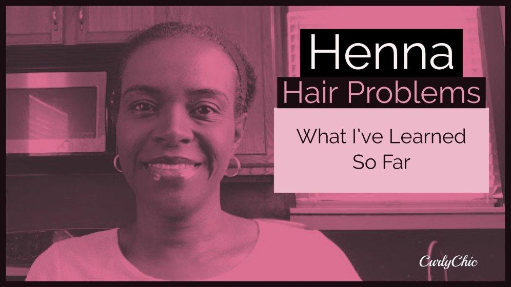 henna hair problems