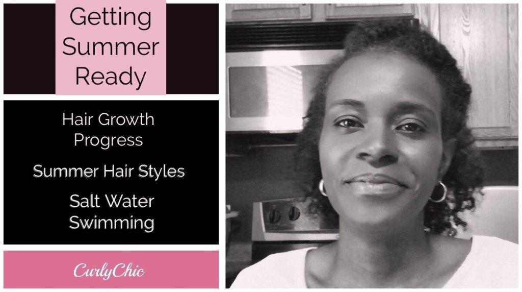 Natural Curly Hair Summer Regimen