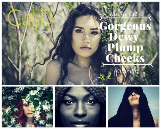 Gorgeous Dewy Plump Cheeks Juteux Curly Davenport