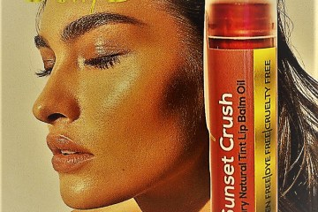 Safe Lip Stain Tint Sunset Crush Curly D main