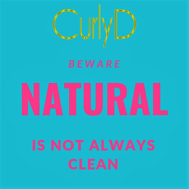 Clean Beauty Health No Chemicals Allowed Curly D 2