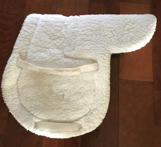 clumped fleece saddles pads and be restored to fluffiness with this cleaning hack