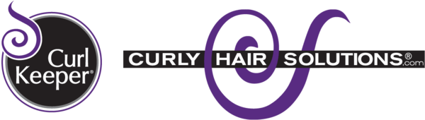 Curly Girl Approved Curl Keeper and Curly Hair Solutions Logo - one of our suppliers