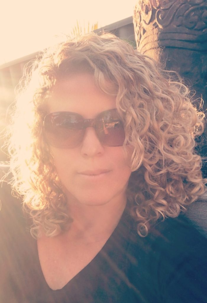 Image showing curly hair fully styled