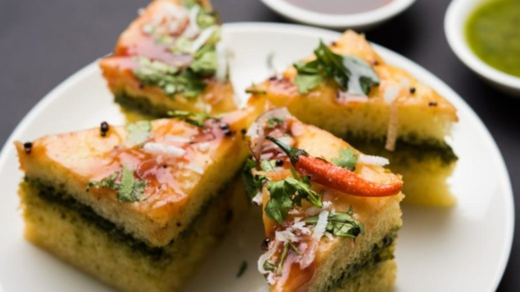 Image result for dhokla chaat