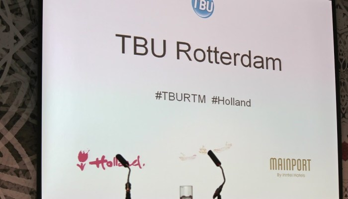 #TBURTM Travel Bloggers Conference in Rotterdam
