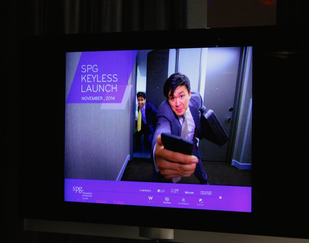 video SPG Keyless in Extreme Wow Suite |curlytraveller.com
