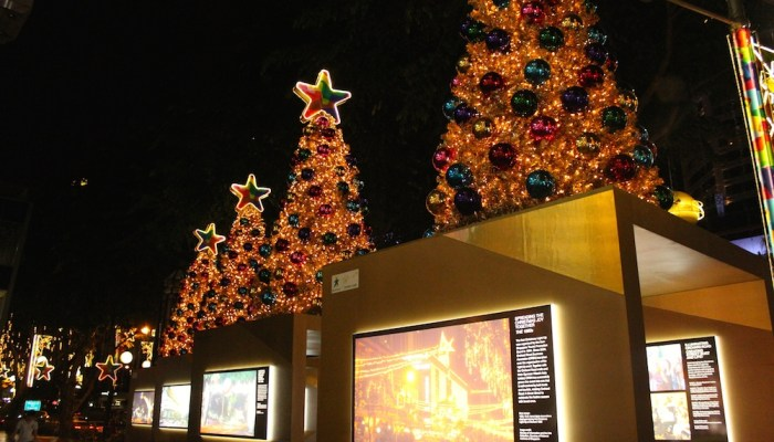 Where and when are the best Christmas decorations and celebrations in Singapore