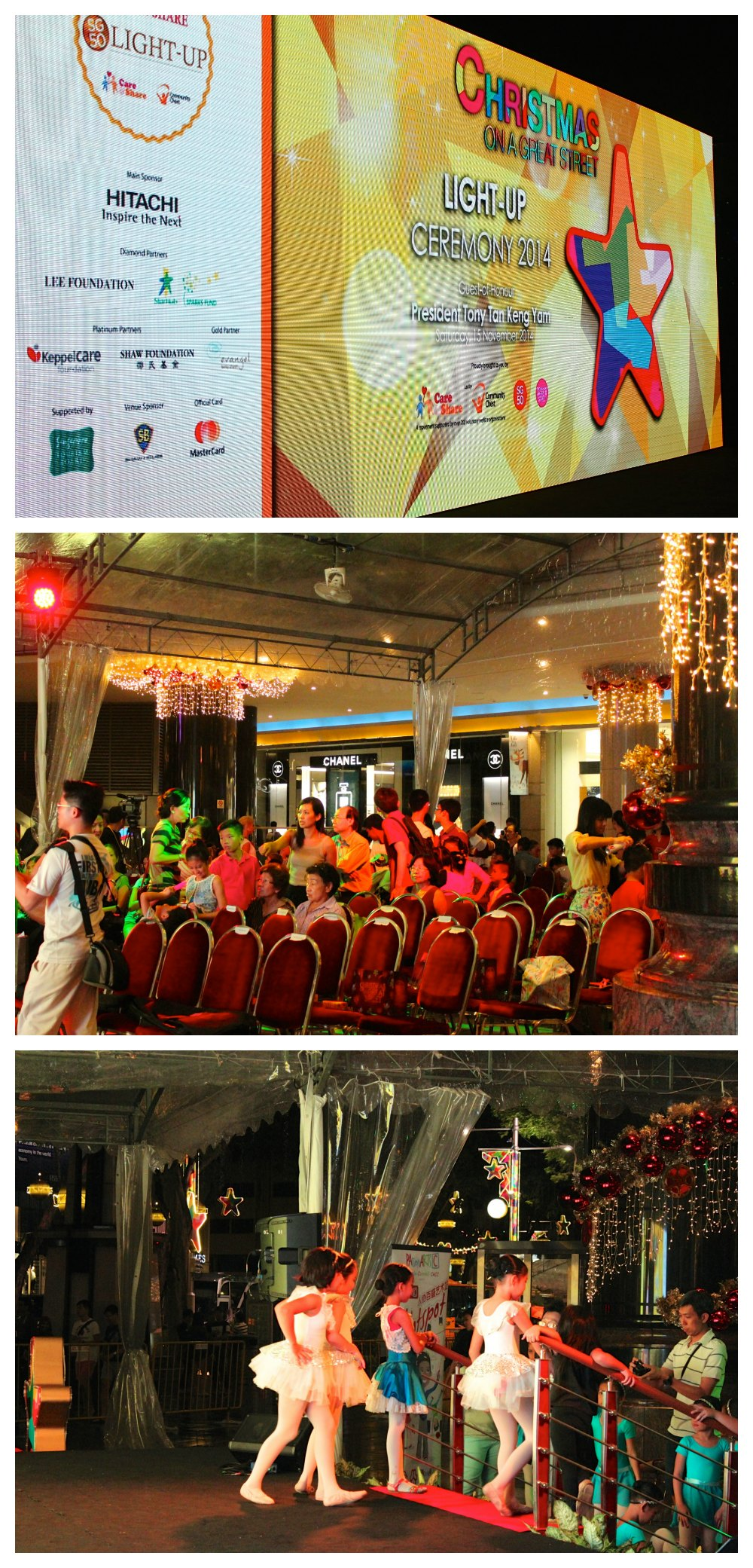 light up ceremony at Shaw House Singapore | curlytraveller.com