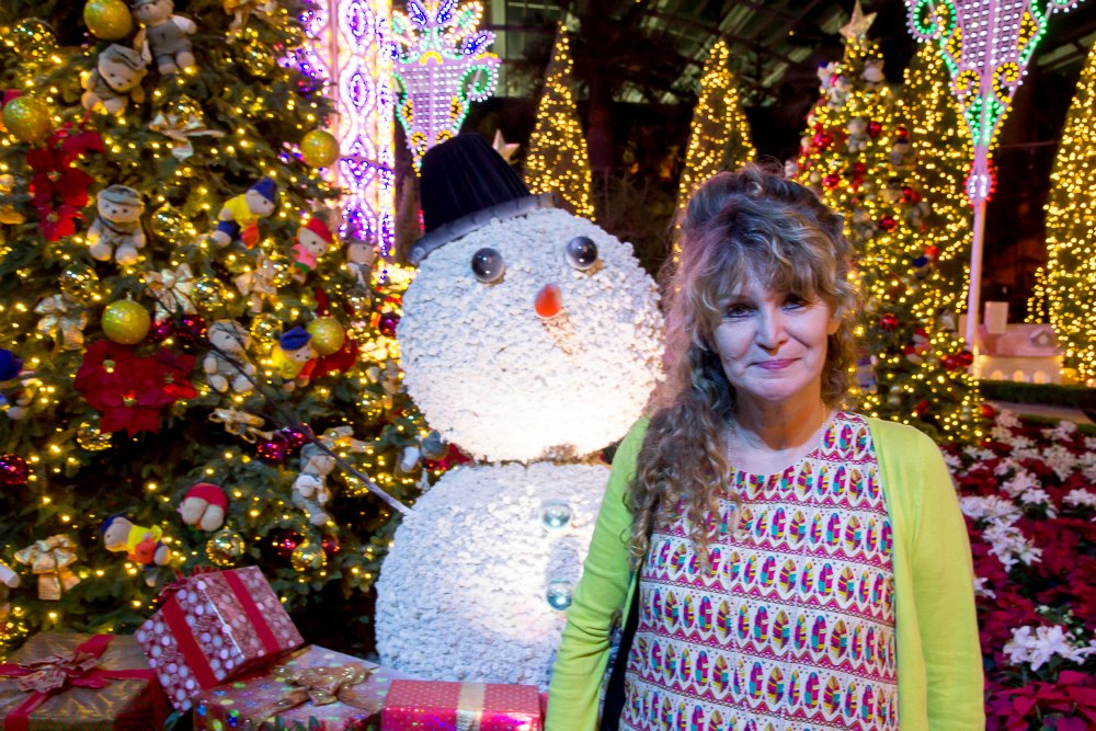 Yuletide in the Flower Dome | curlytraveller.com