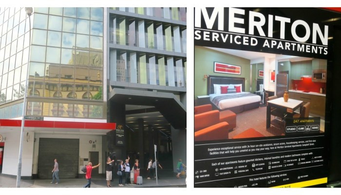 My review of Sydney's Nr. 1 hotel – Meriton Serviced Apartments Campbell Street