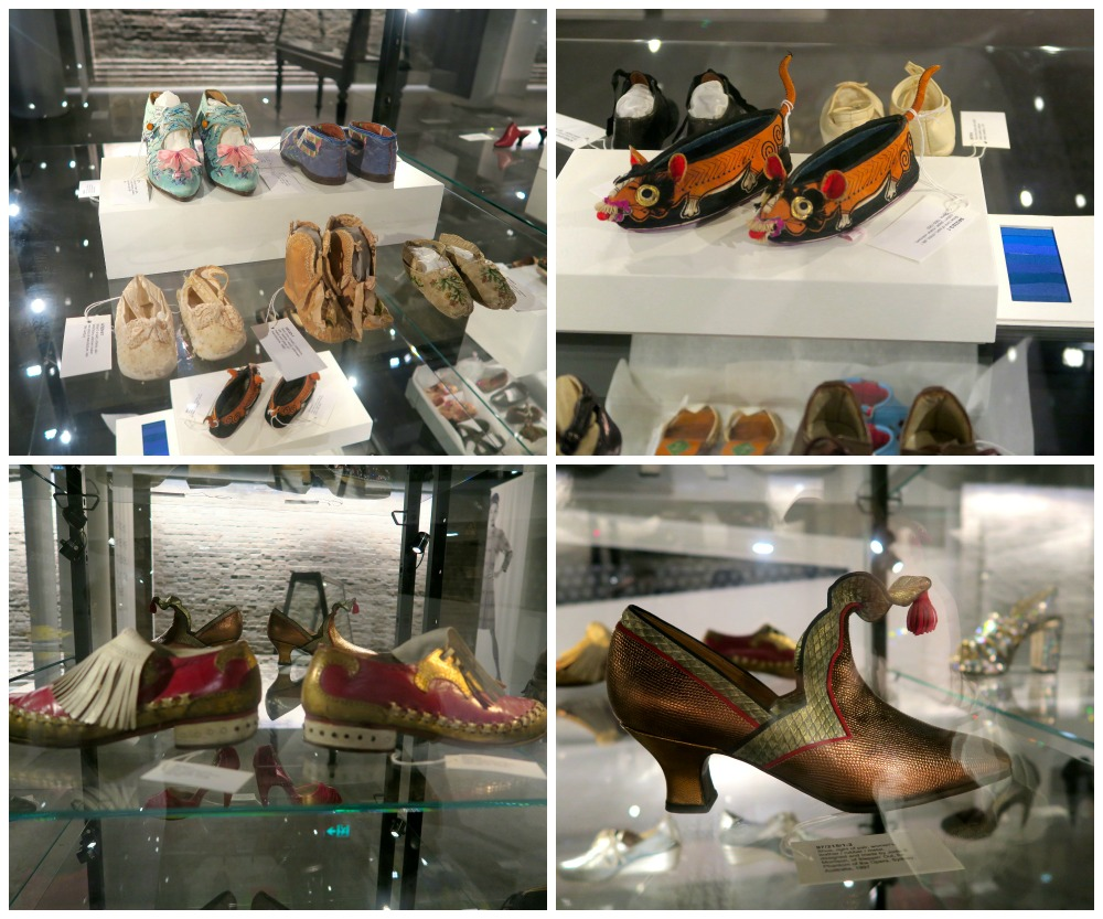 Shoes from all times at Powerhouse Museum Sydney|curytraveller.com