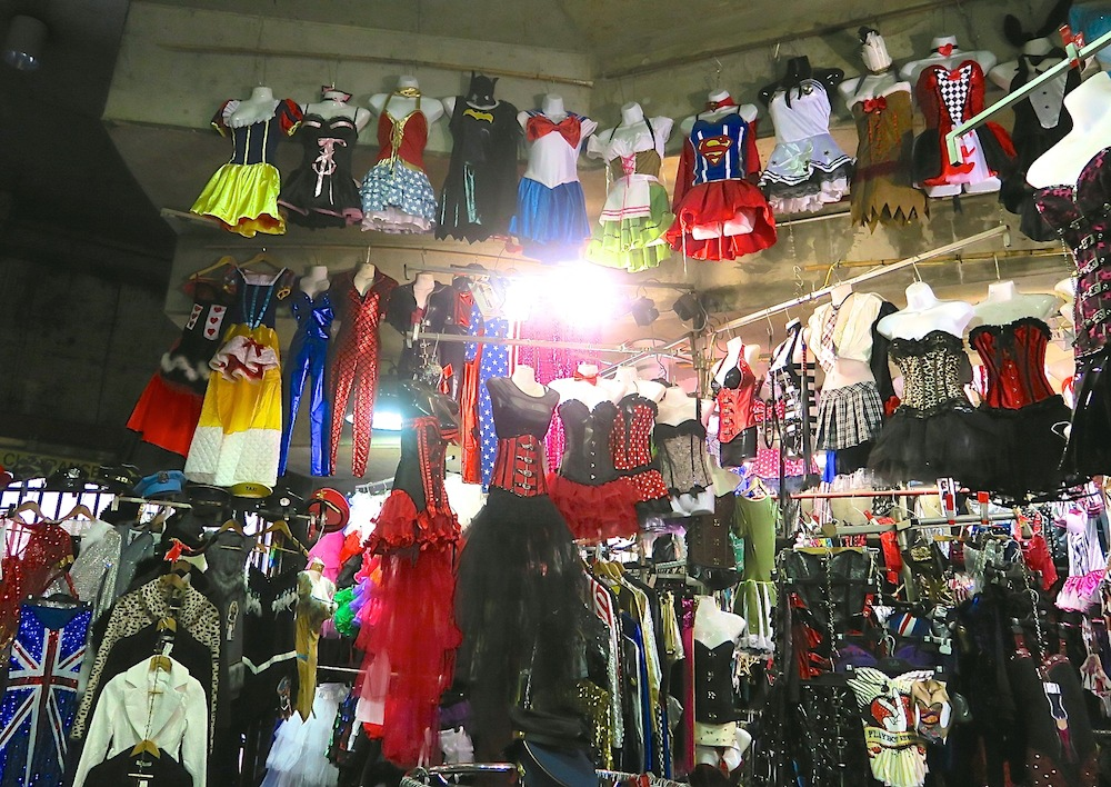 Party costumes at Paddy's market Sydney |curlytraveller.com