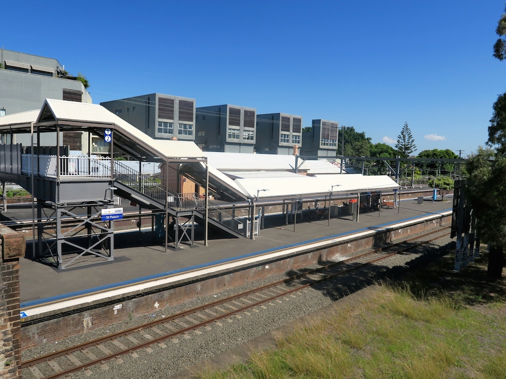 St Peters train station in Sydney |curlytraveller.com