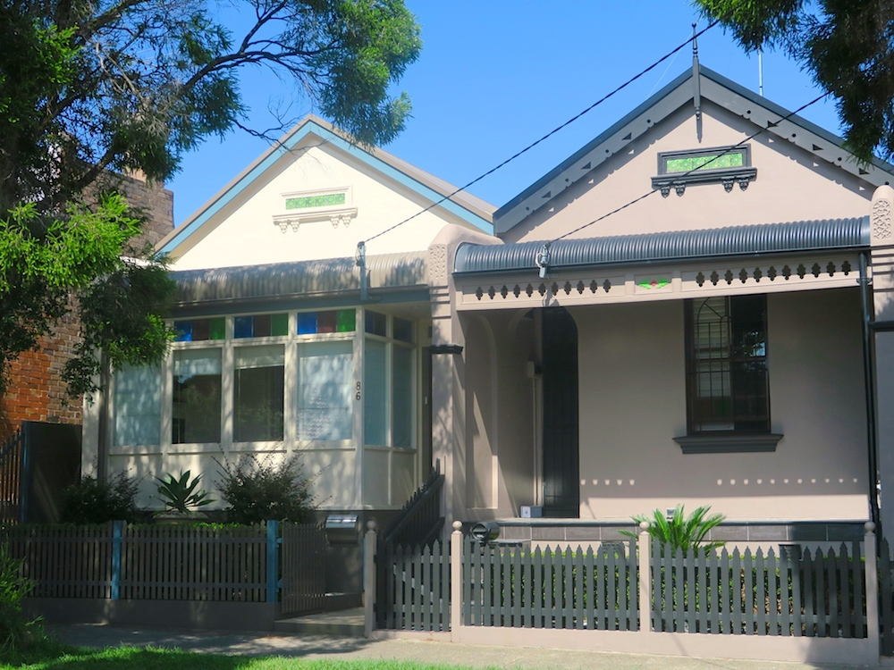 Cute houses in St Peters, Sydney |curlytraveller.com