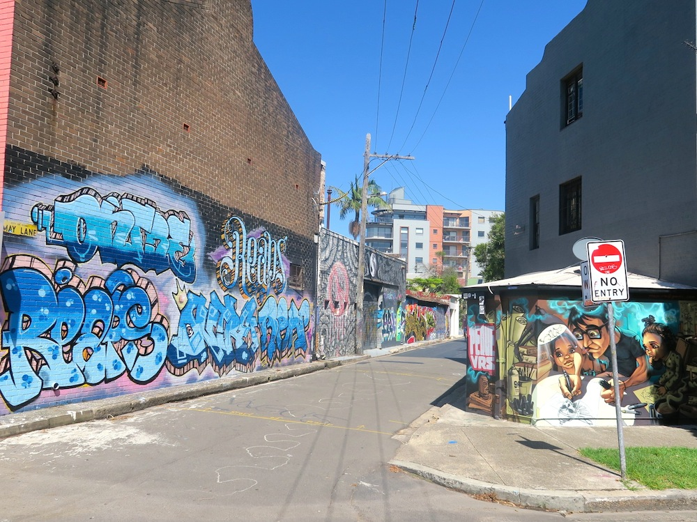 May Lane, St Peters, Sydney |curlytraveller.com