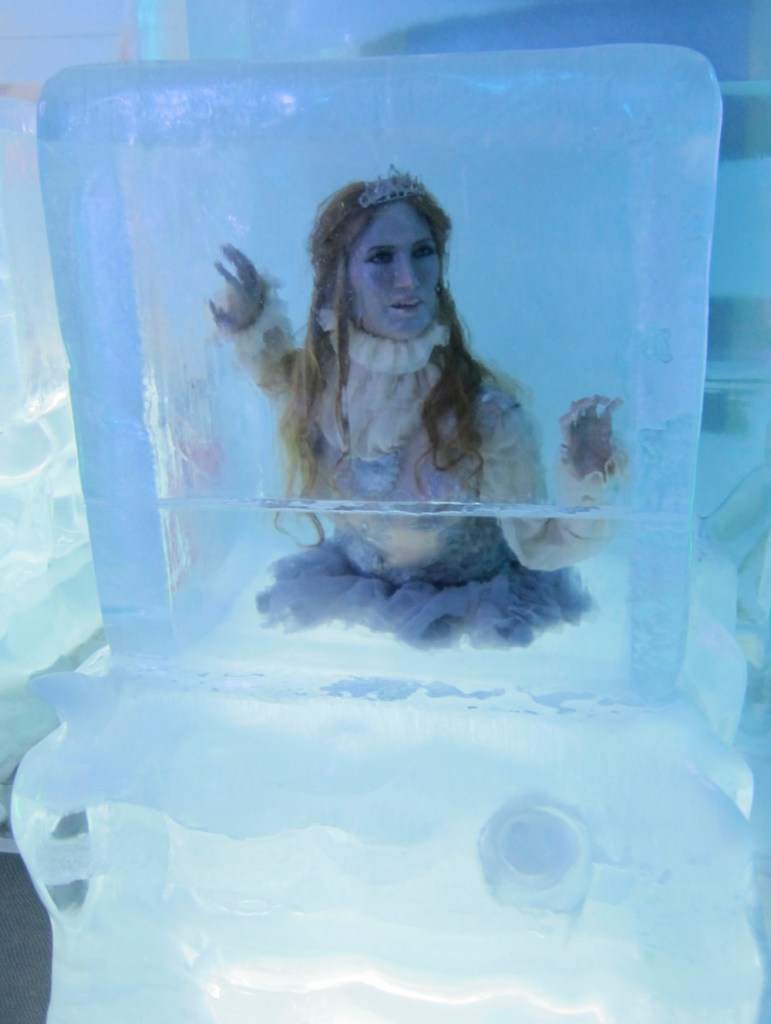 Woman on ice |curlytraveller.com