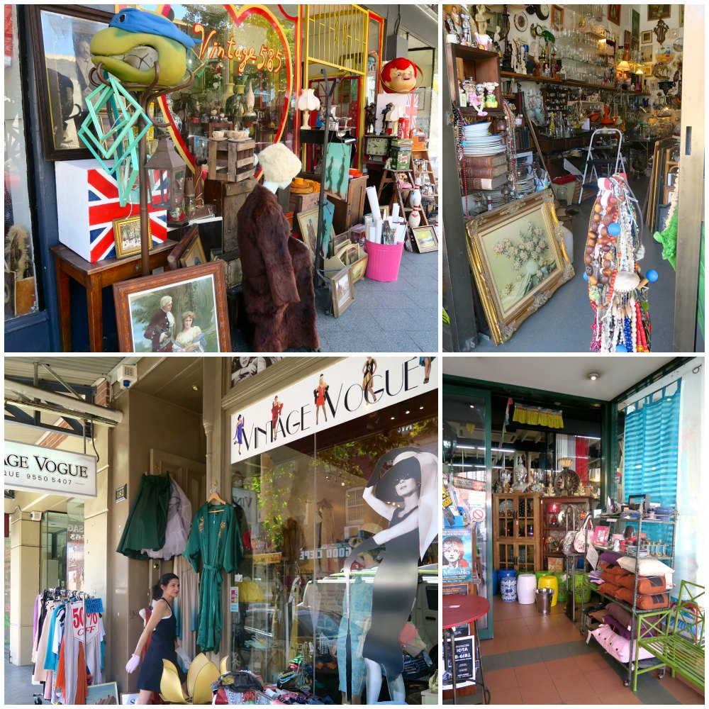 Curio and vintage in Newtown  curlytraveller.com