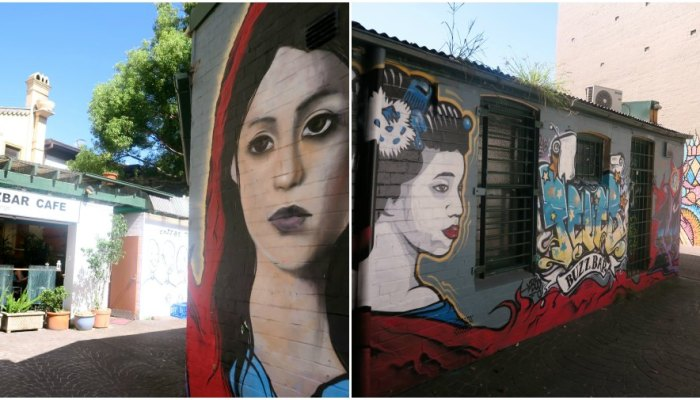 Where to find street art in Newtown