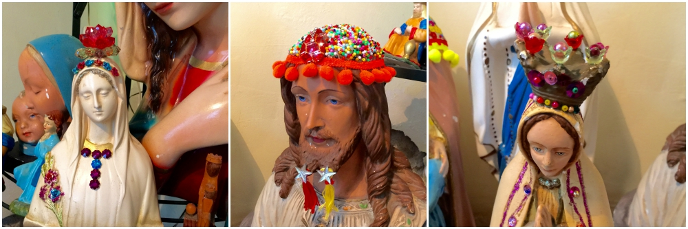 Religious statues revamped |curlytraveller.com