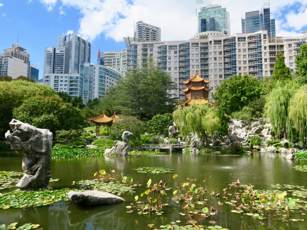 away from the hustle and bustle from Sydney in the Chinese Gardens |curlytraveller.com