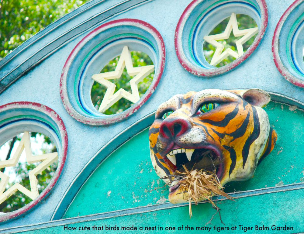 Tiger gate at Tiger Balm Garden Singapore |curlytraveller.com