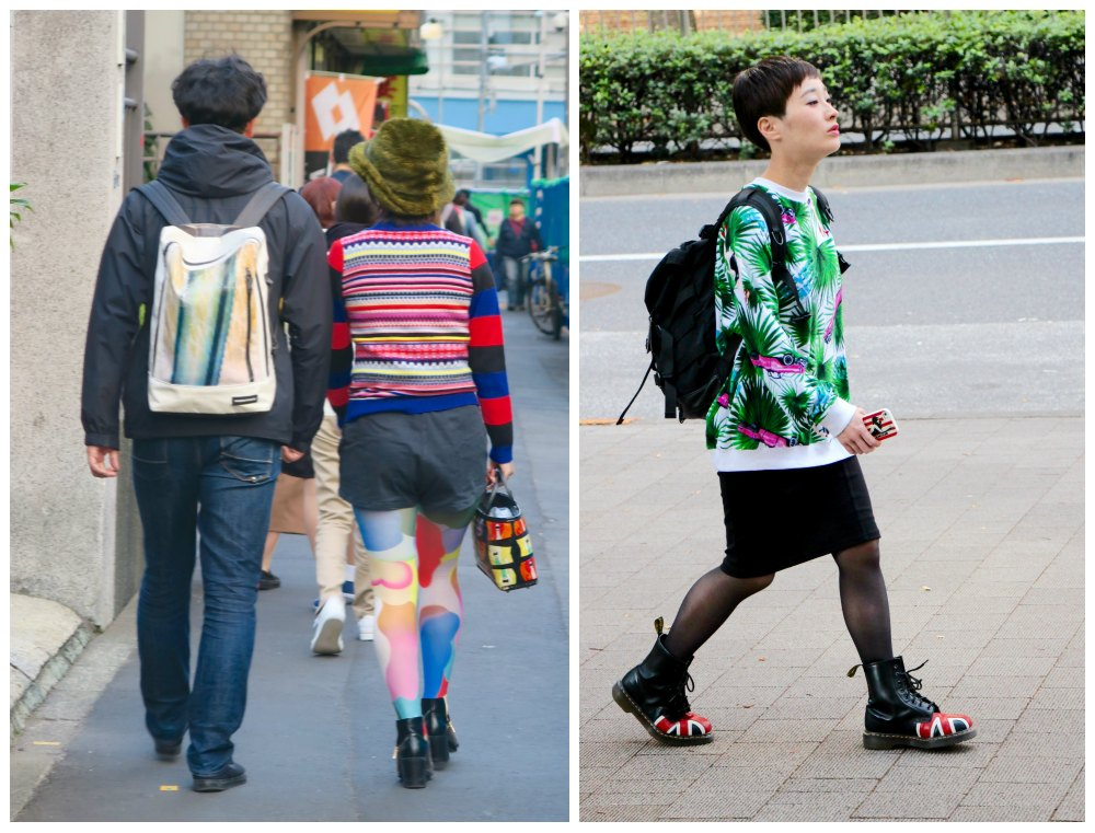 Extravagant fashion on the streets of Tokyo  curlytraveller.com