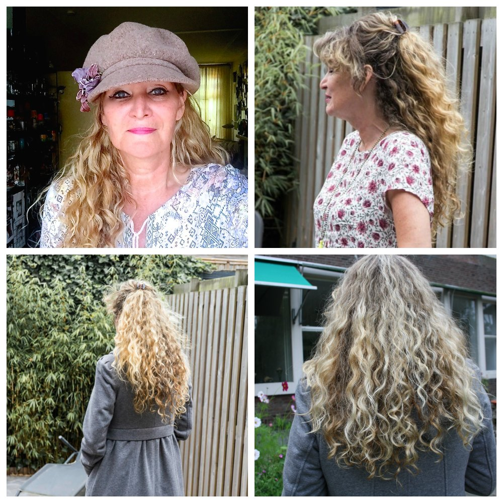 Woman with long blond curls |curlytraveller.com