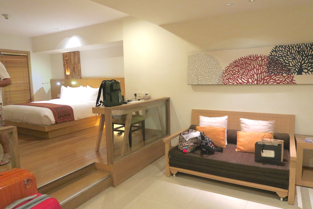 Suite at Holiday Inn Resort Baruna Bali |curlytraveller.com