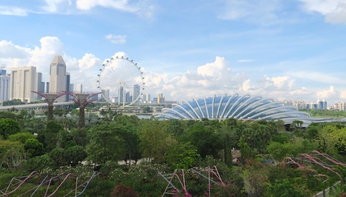Singapore Botanic Gardens or Gardens by the Bay