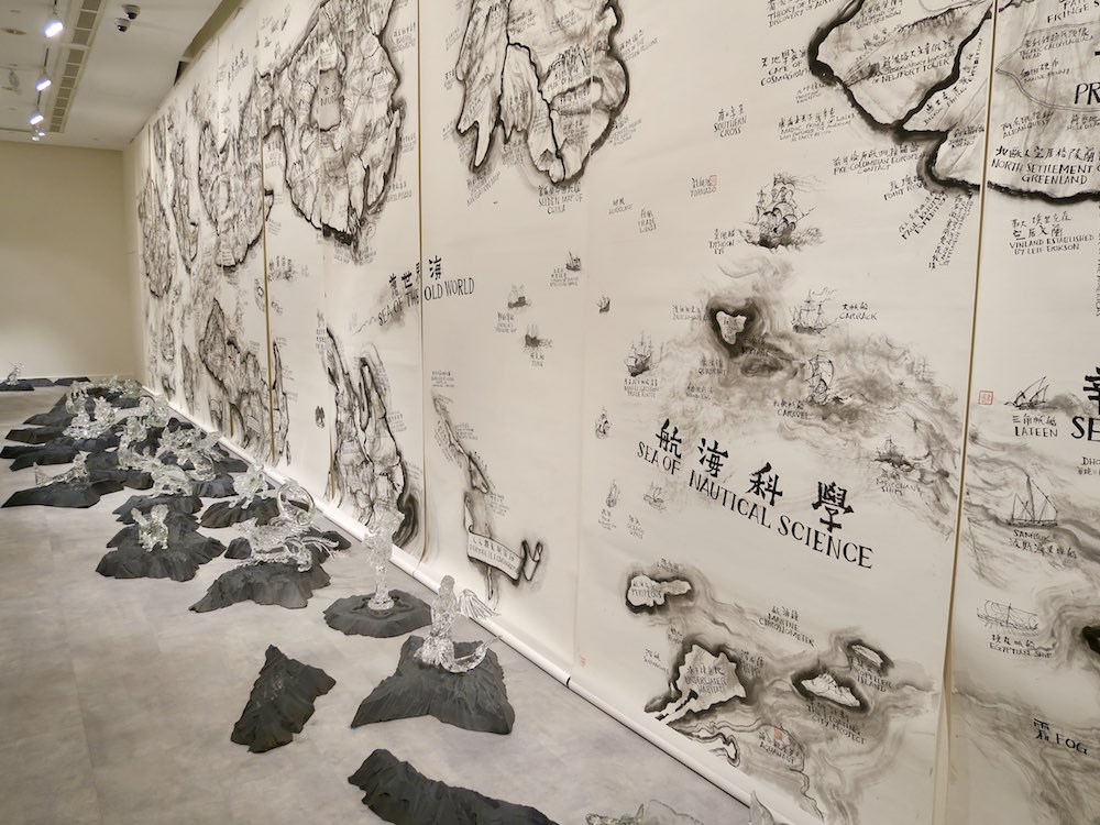 Maps of imaginary countries at SAM |curlytraveller.com