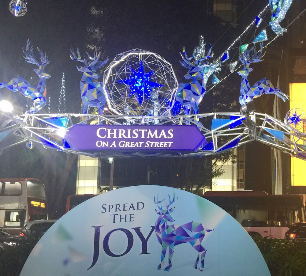 Christmas along Orchard Road |curlytraveller.com