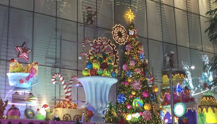 Christmas in Singapore : where to see the best Christmas decorations