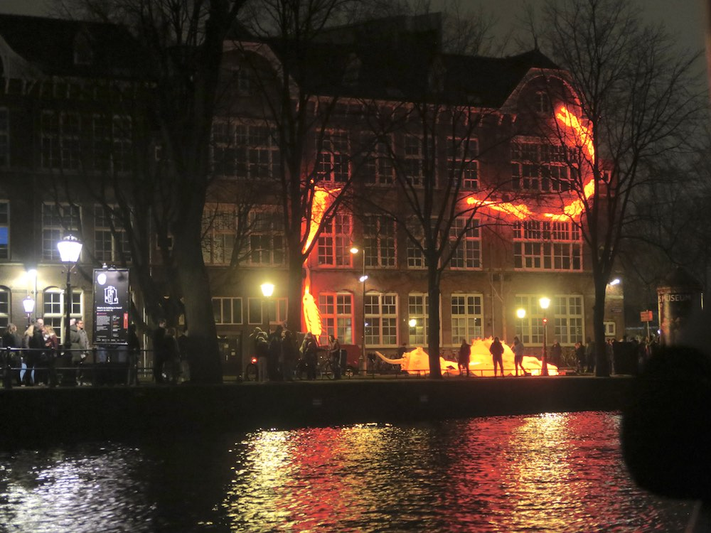 Rotifers XL at Amsterdam Light Festival |curlytraveller.com