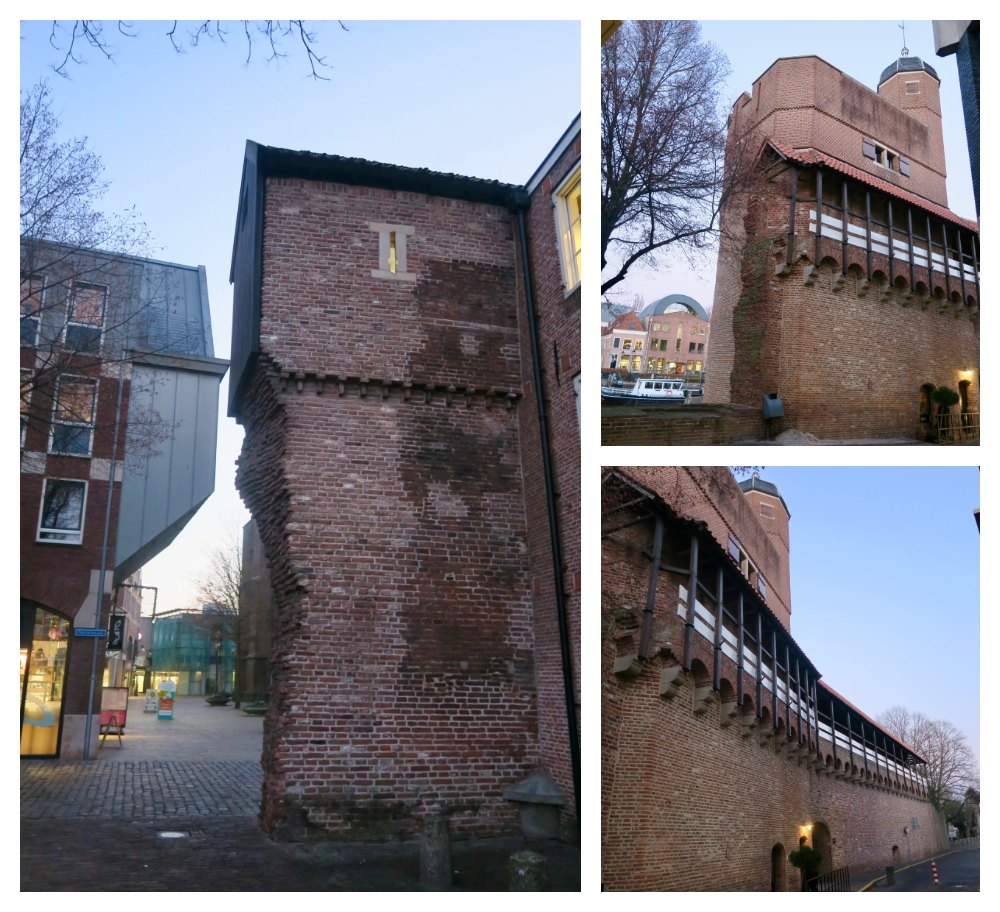 Remains of Zwolle's city walls |curlytraveller.com