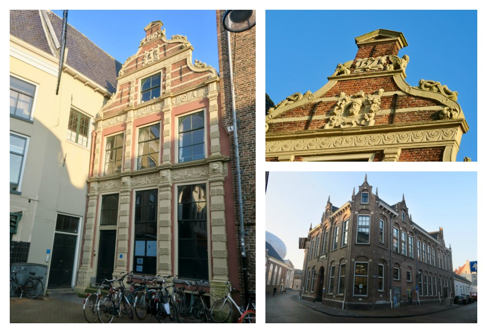 Centuries old buildings in the heart of Zwolle |curlytraveller.com