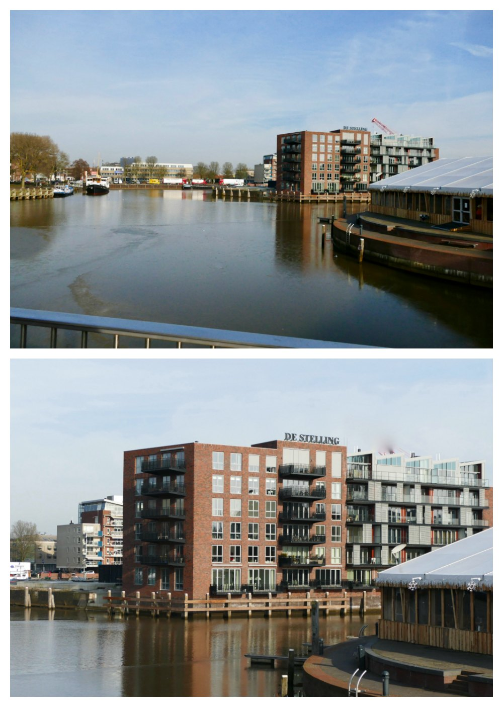 A wider part of Zwolle's canal |curlytraveller.com