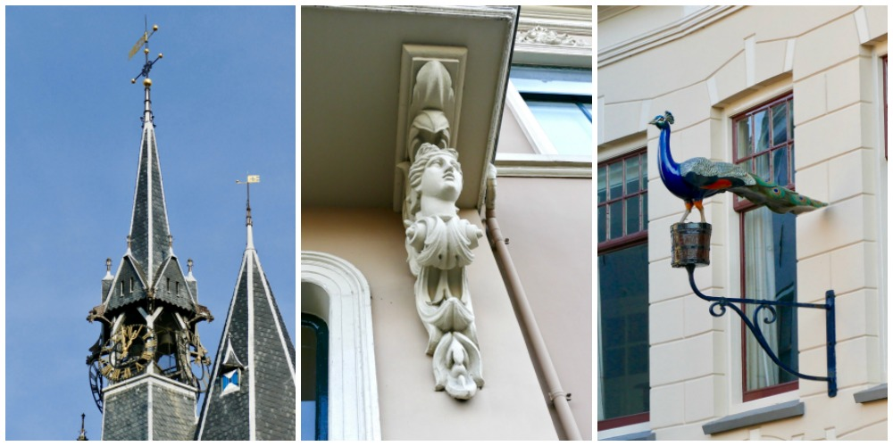 Architectural details in Zwolle  curlytraveller.com