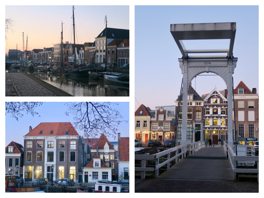 Typical warehouses and bridges along Zwolle's canal |curlytraveller.com