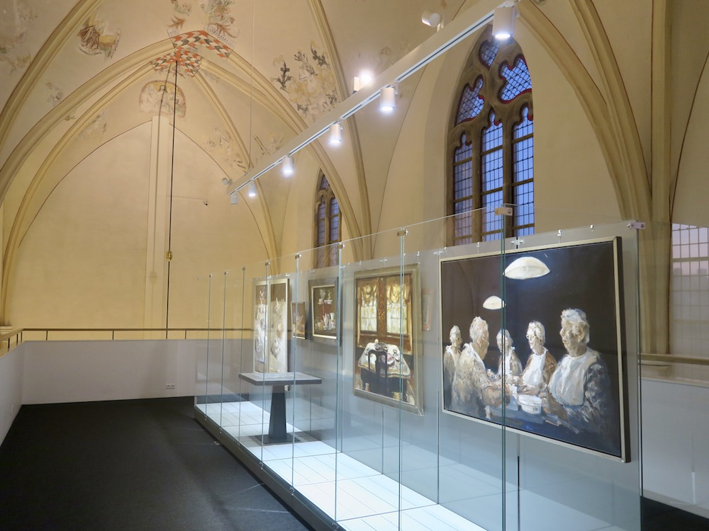 Art exhibition in Waanders Zwolle |curlytraveller.com