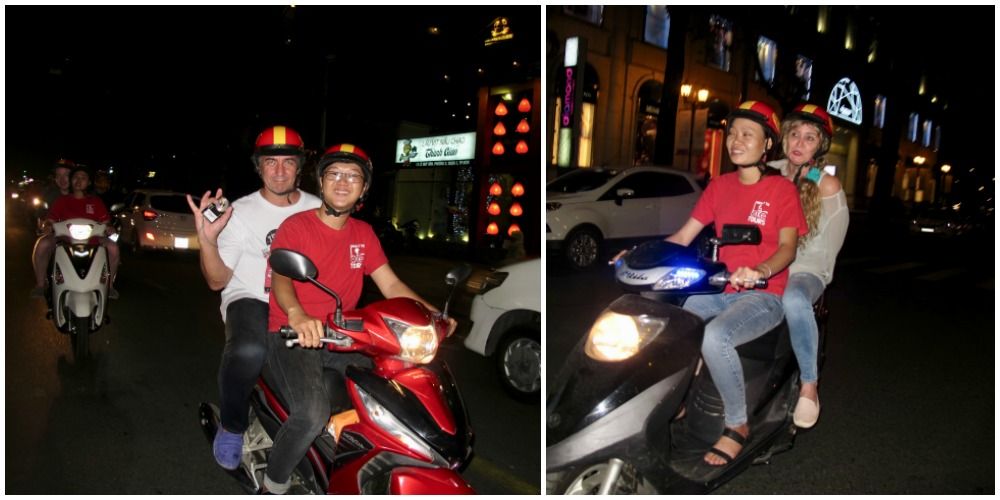 Two couple on bikes |curlytraveller.com
